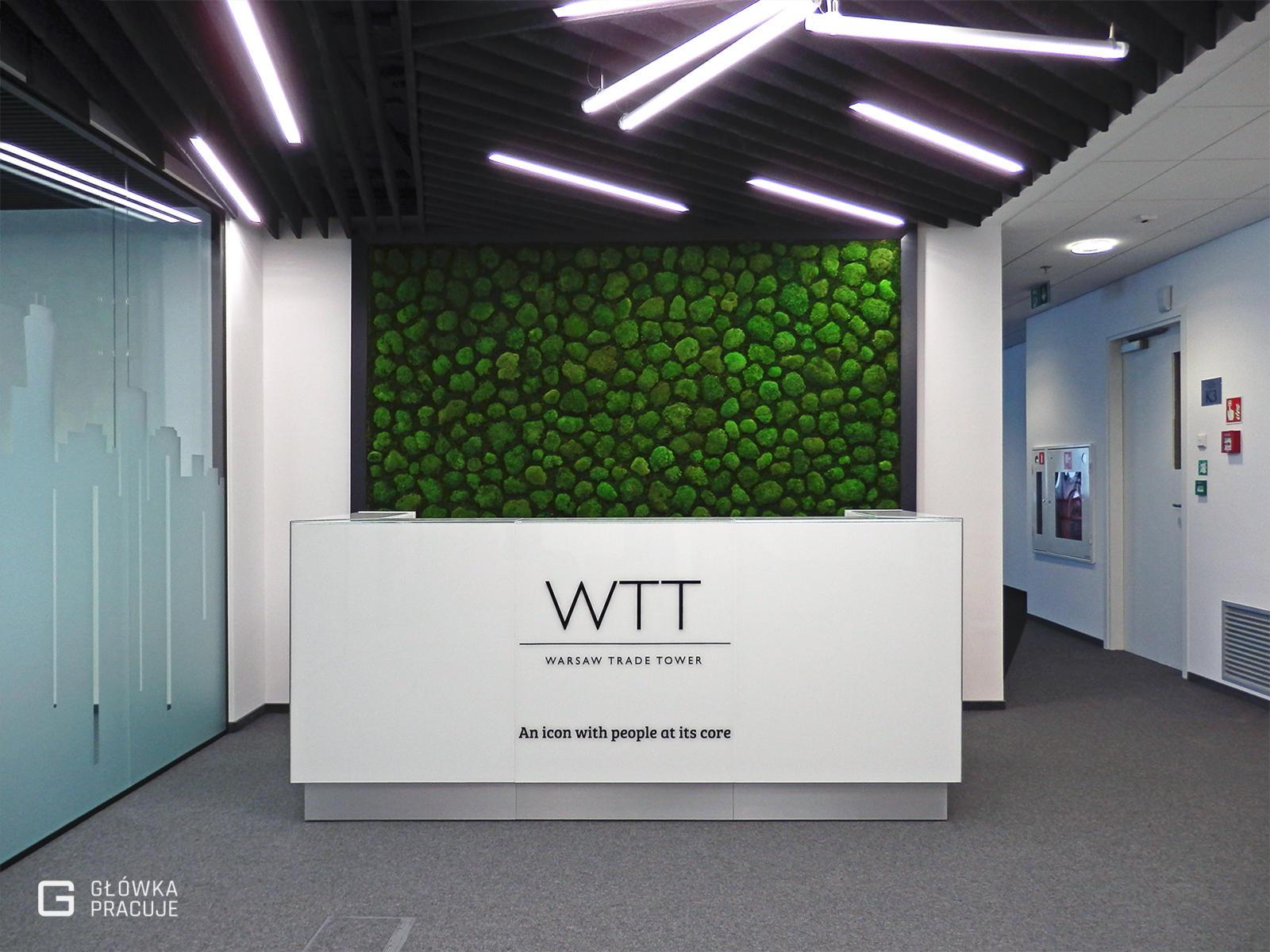 Główka pracuje pl WTT litery przestrzenne z plexi czarnej, recepcja