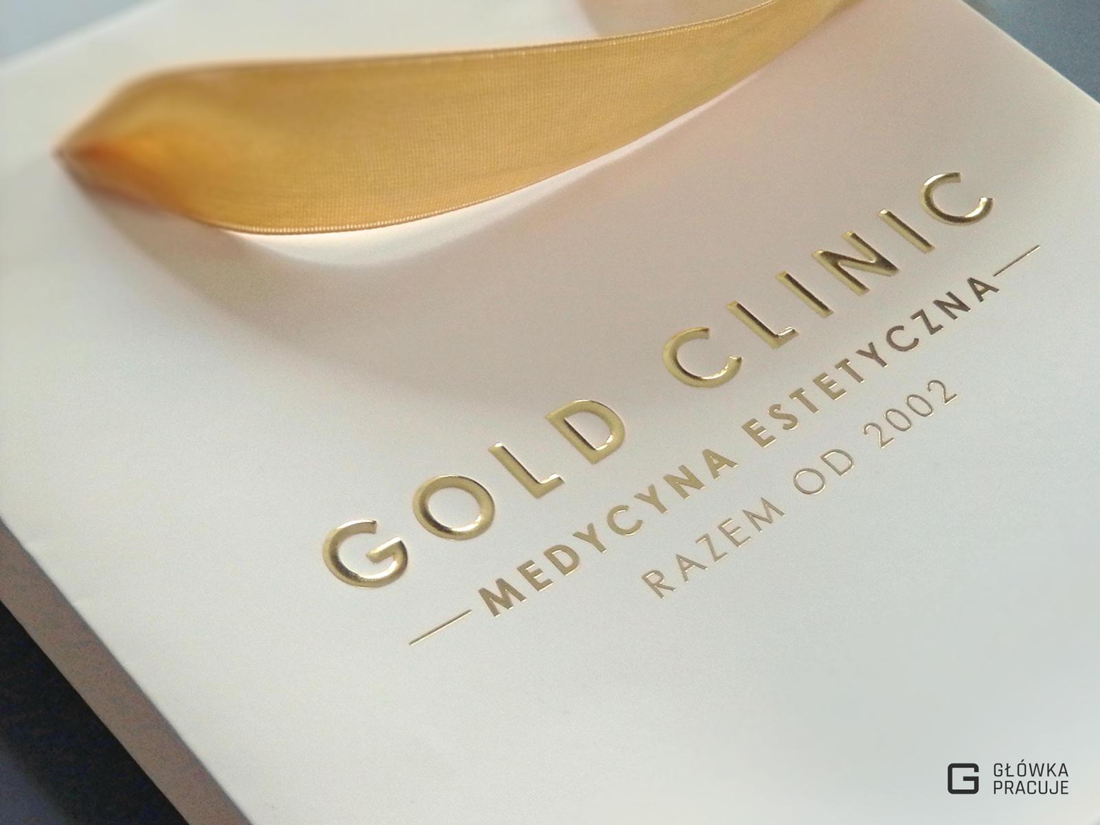 Główka pracuje pl torba reklamowa ze złotym hotstampingiem i tłoczeniem